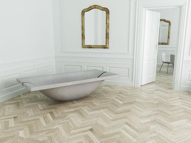 Dade design dade design vasca da bagno in cemento - Vasca da bagno in cemento ...