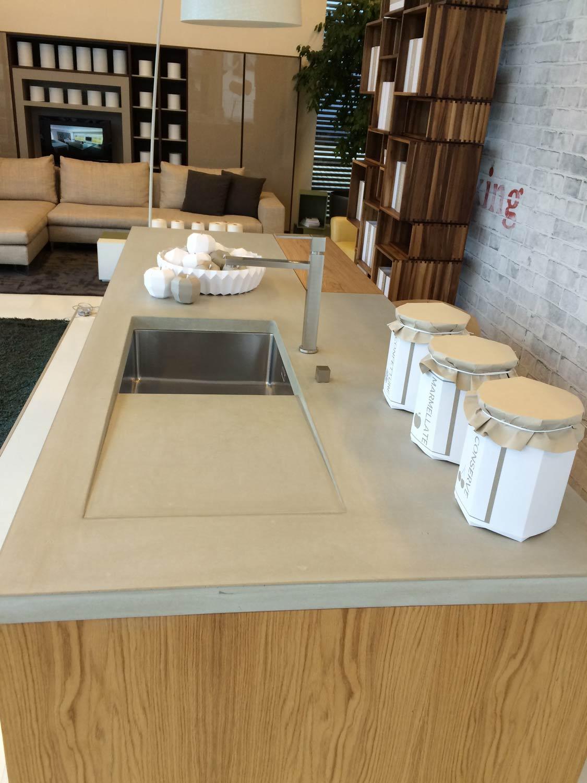 dade design beton k che f r stile libero. Black Bedroom Furniture Sets. Home Design Ideas
