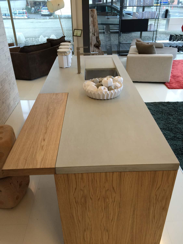 dade design | Cucina in Cemento Stile Libero