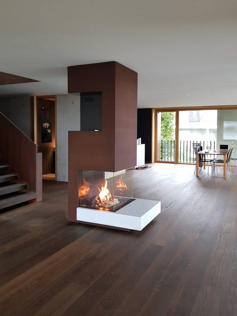 dade design –  Beton Kamine und Betonöfen, Kaminverkleidung