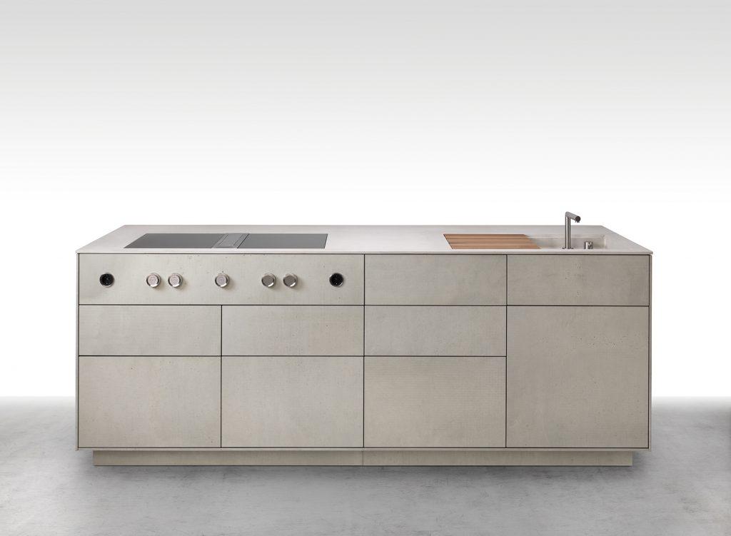 Cucina in cemento dade Milano - dade design - opere concrete ...