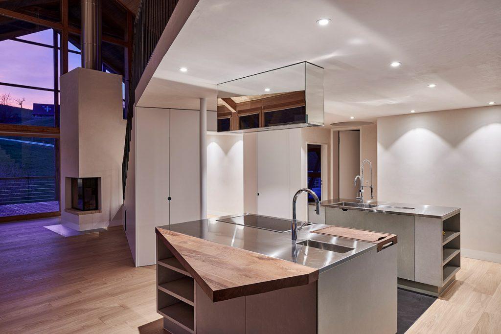 Betonküche Betonfronten Beton Holz Residential – dade design