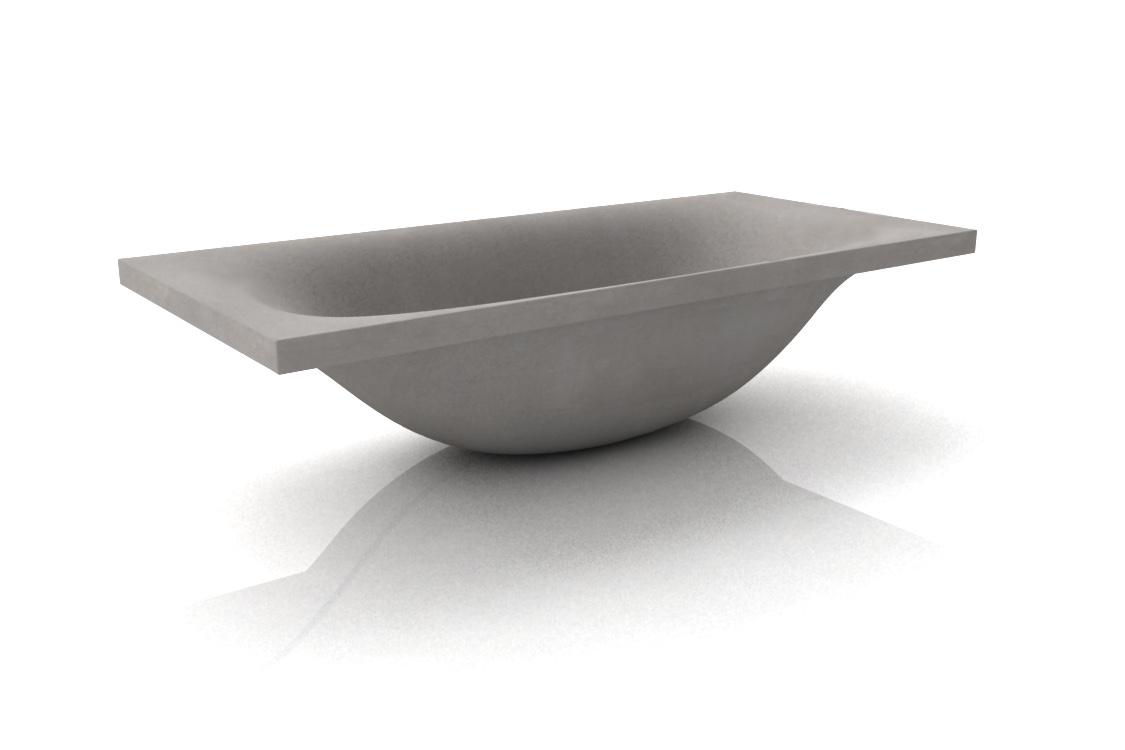 Vasca Da Bagno Wave : Beton badewannen dade design