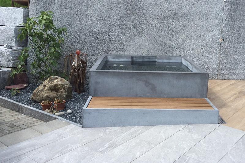 dade design beton whirlpool concrete jacuzzi. Black Bedroom Furniture Sets. Home Design Ideas
