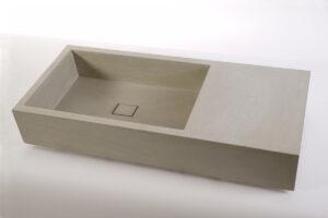 Lavabo in cemento ELEMENT 90/60