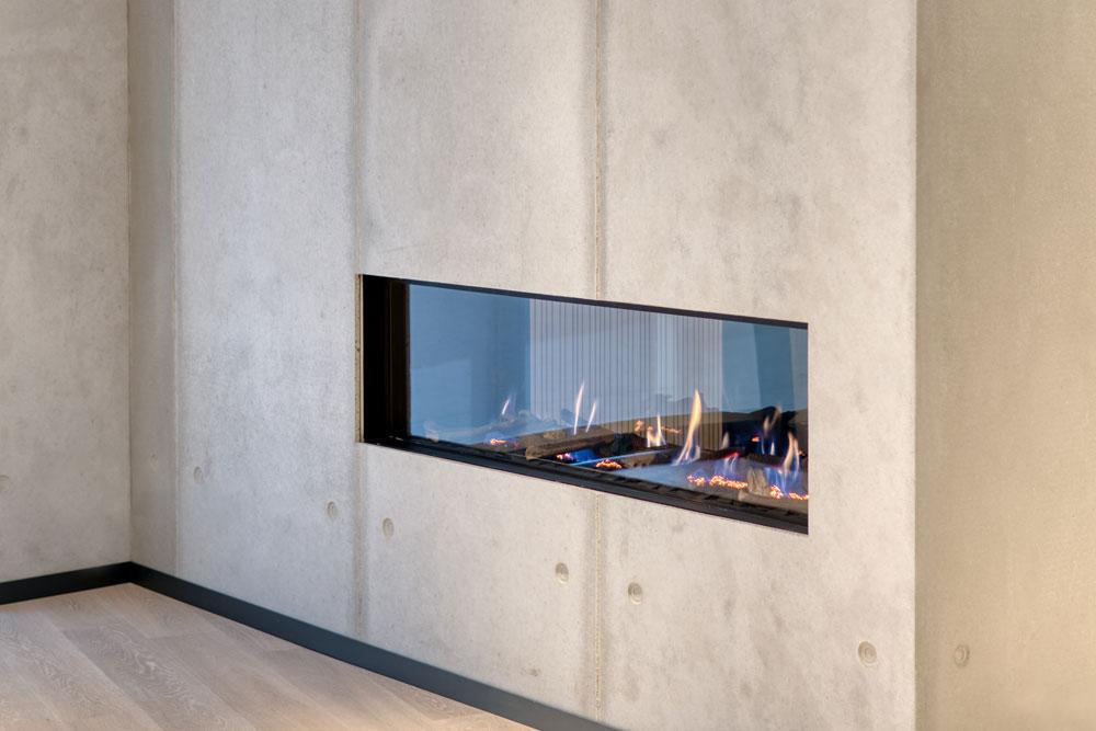 dade design –  Beton Kamine und Betonöfen, Beton trifft Feuer