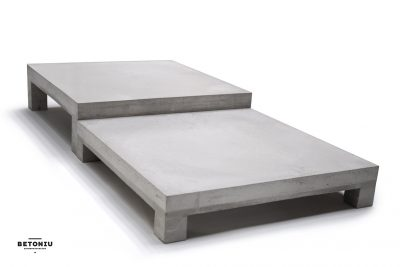 Concrete coffee table - dade design