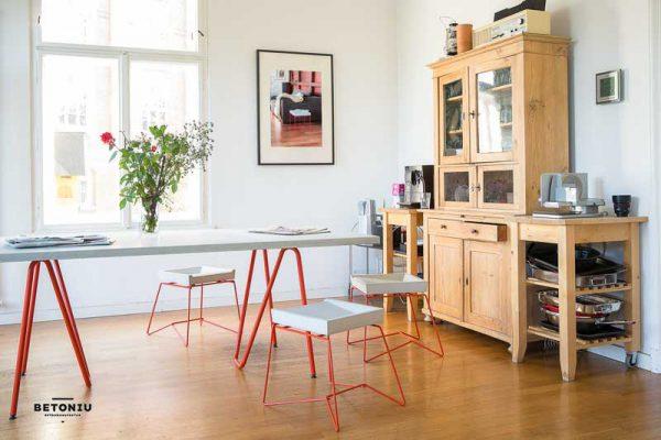 Betontisch - Beton Schreibtisch