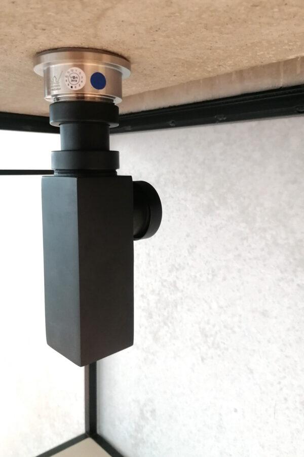 Siphon Gessi für Laura Beton Waschtisch | dade design