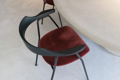 Stuhl Rex Kralj 4455 mit Betontisch |dade design