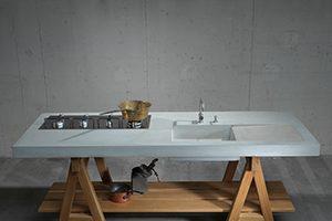 Concrete Kitchen WERKKÜCHE