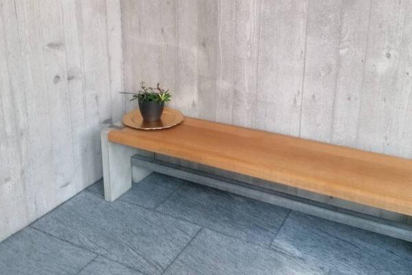 Sitzbank Beton Holz dade BENCH | dade design