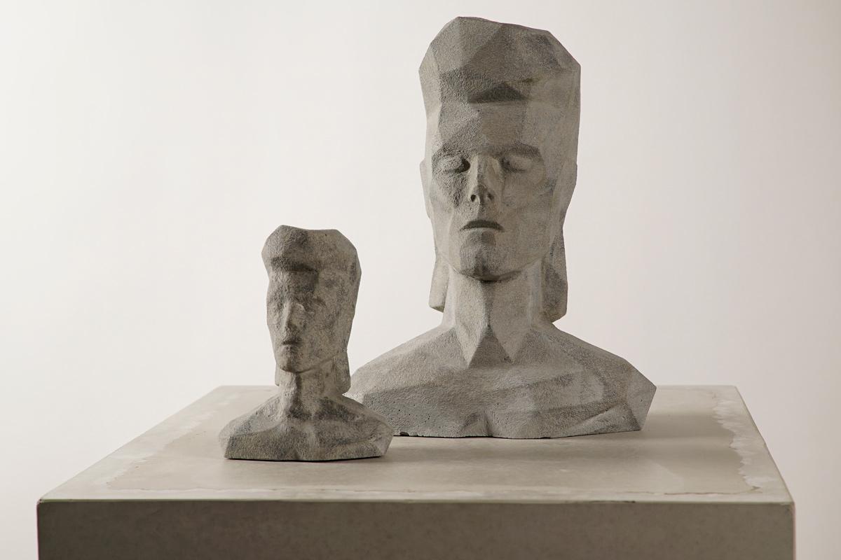 Concrete Sculpture David Bowie Dade Design