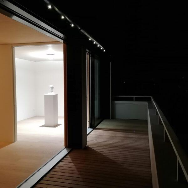 Beton Interio Weisszement Skulptur Residential Innenarchitektur G17