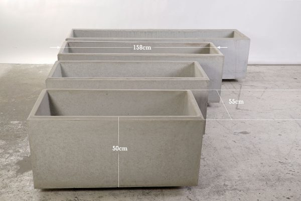 Concrete trough - dade design