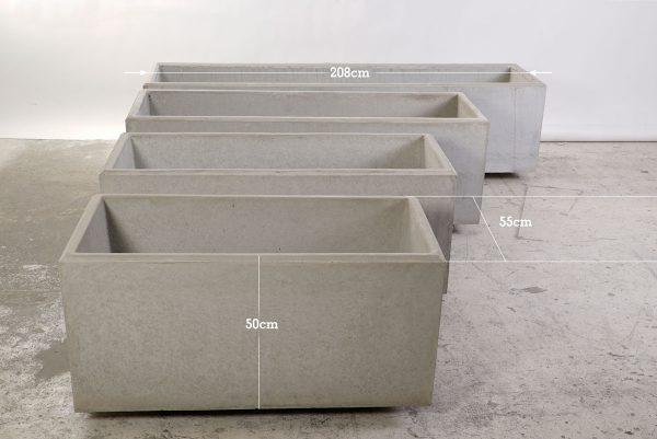 Concrete trough - dade design