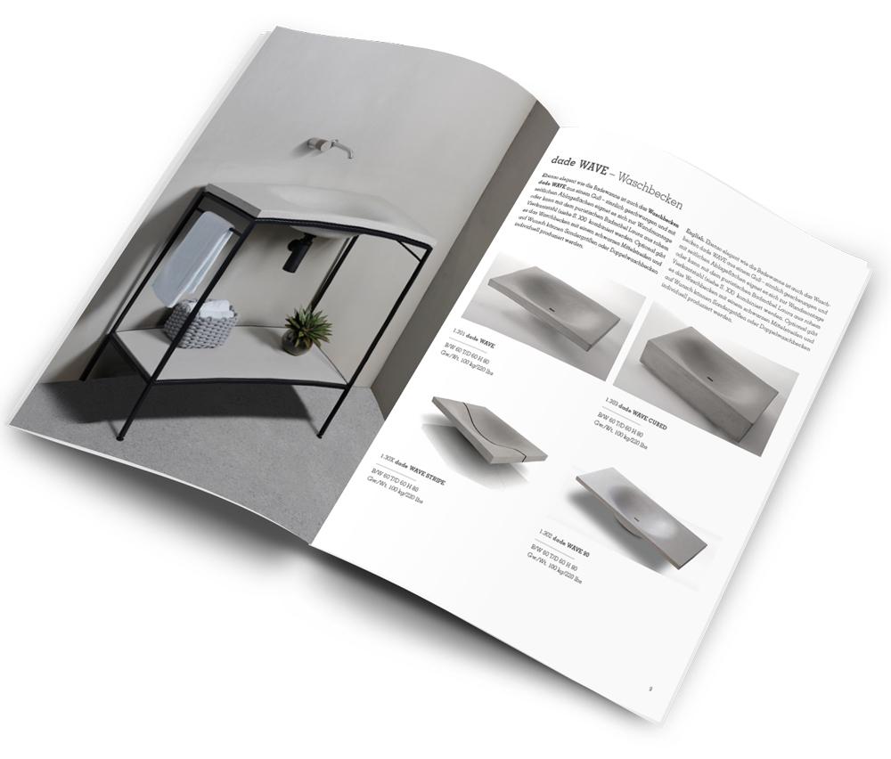 Bad Produkte Badbroschuere 2019 Betonwaschtisch Waschbecken – dade design