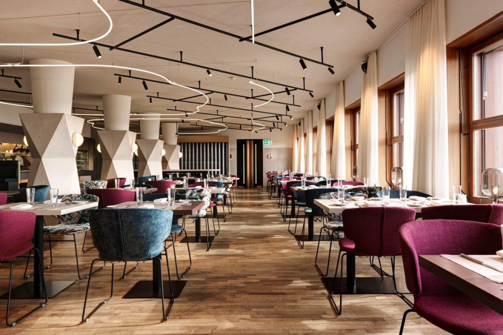dade Betonelemente Betontische Terrazzo Hotel Zürichberg