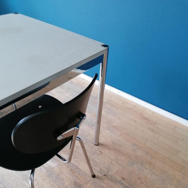 Betonisch und Stühle kombinieren – so klappt's | Egon Eiermann USM dade design