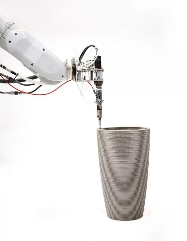 Betontopf 3D gedruckt MYPOT – dade design