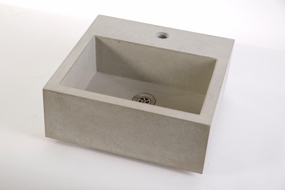 Outdoor Waschbecken.Concrete Sink Cassa 40