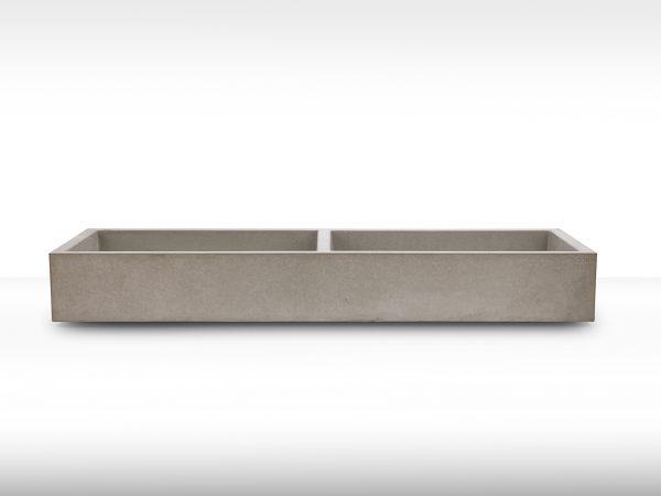Doppelwaschbecken aus Beton - dade design
