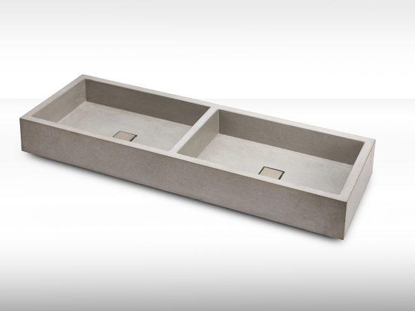 Beton Doppelwaschbecken - dade design