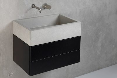 Concrete washbasin furniture - dade design