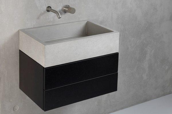 Concrete washbasin furniture - dade design