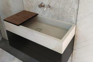 Waschtisch Beton ELINA 90