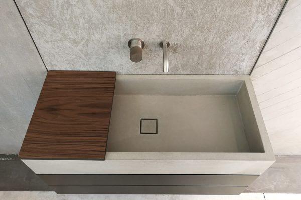 Mobile da bagno in cemento - dade design