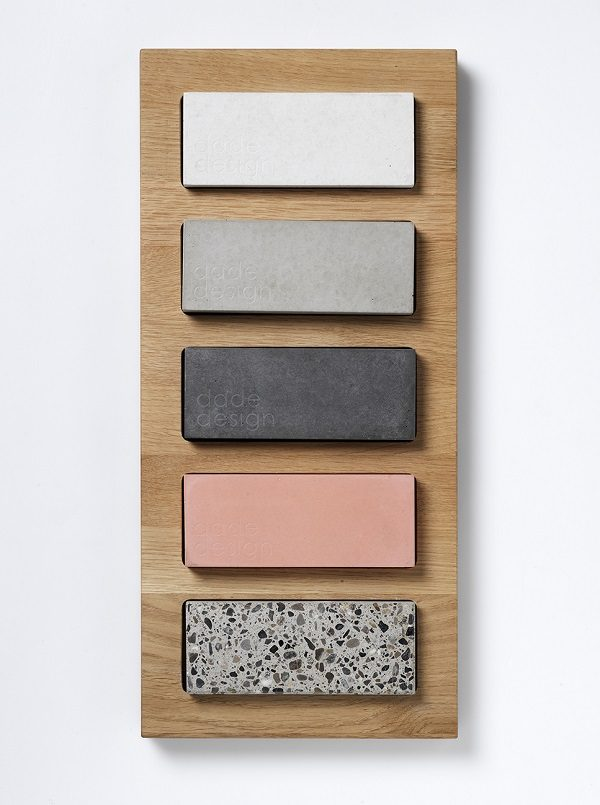 Concrete colour collection - dade design