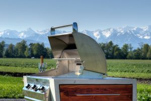 Modulo griglia in cemento THE CONCRETE BBQ