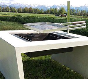 Concrete fire pit - dade design