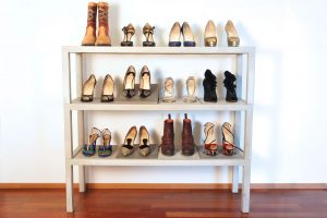 Concrete Shoe RACK for 4 shoe rack