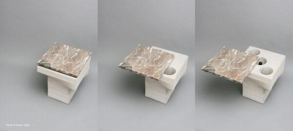 dade TRONCO Bartisch Beton Beistelltisch