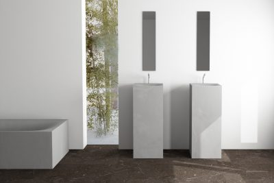Betonwaschbecken Säulen - dade design