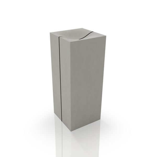Concrete washbasin pillar - dade design