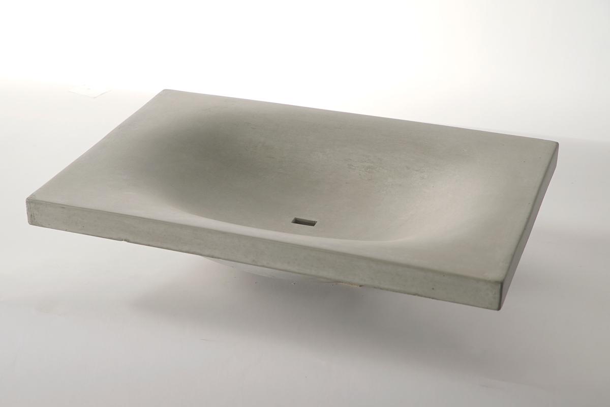 Lavabo in cemento WAVE