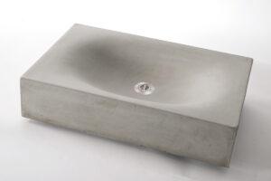 Concrete Sink WAVE CUBED