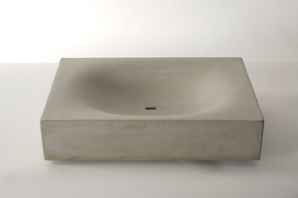 Concrete washbasin - WAVE - dade design