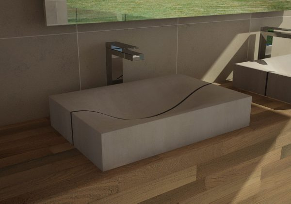 Concrete washbasin - dade design