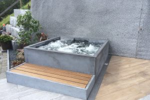 Concrete Pool Whirlpool