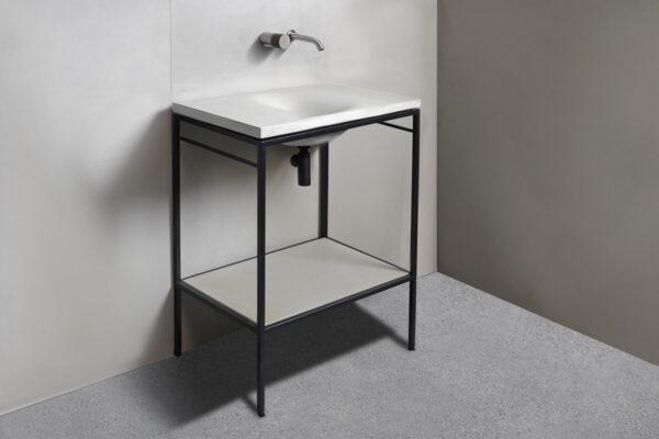 Waschtisch LAURA 60 für Betonwaschbecken WAVE | dade design
