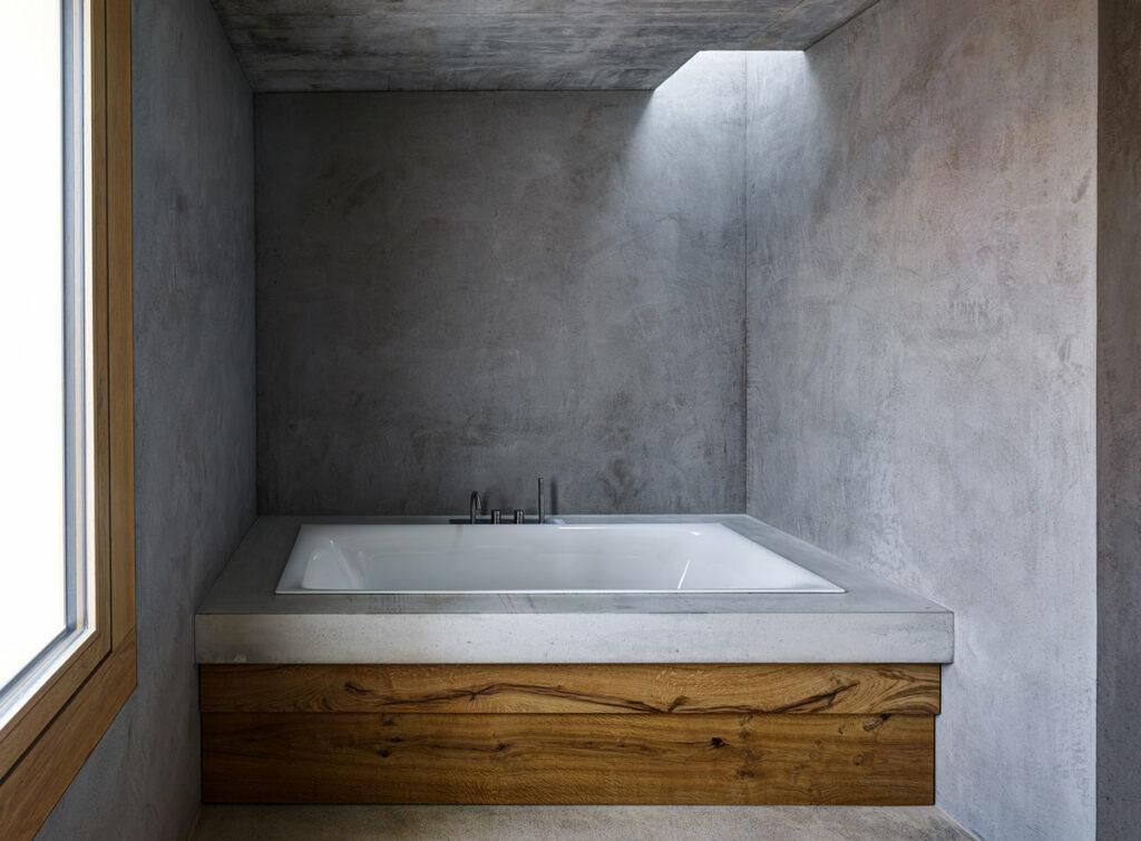 dade design BE Architekten Betondesign im Bad