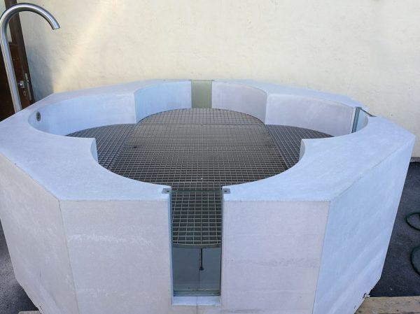 Betonbrunnen | Brunnentrog aus Beton custom-made – dade design
