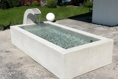 Betonbrunnen custom made Betonunikat – dade design
