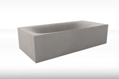 Beton Badewanne WAVE CUBED | dade design