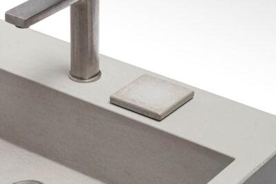 Beton Unterlageplaettchen quadrat concrete cemento – dade design