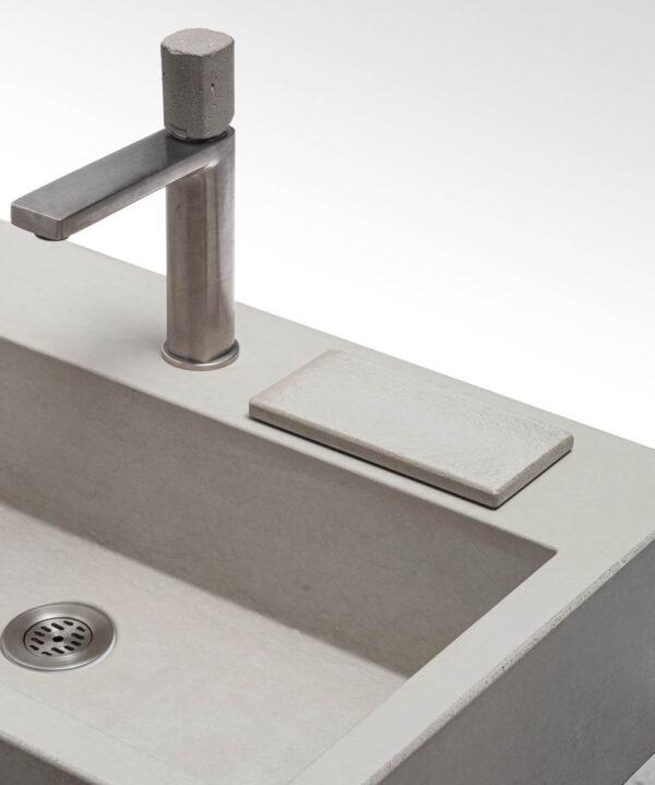 Beton Unterlageplaettchen rechteck concrete cemento – dade design
